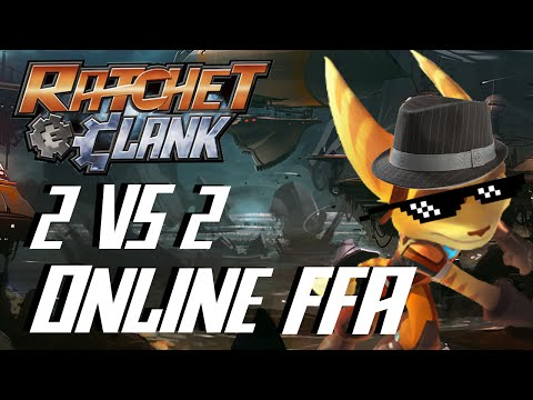 Ratchet & Clank: Full Frontal Assault (Q-Force) HD Multiplayer Online PS3 Gameplay