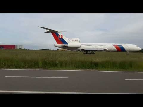 TU154-M from Slovakia while taxiing to Holding Point06