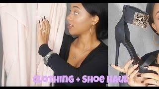 Clothing + Shoe Haul | AMI Clubwear & Boohoo