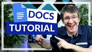 Google Docs Beginners Tutorial 2020