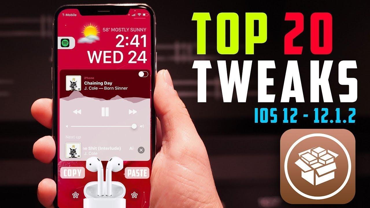 Top 20 Best Jailbreak Tweaks for iOS 12 - 12 1 2 (Unc0ver