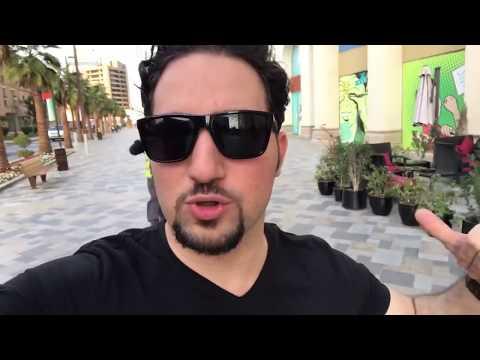 لايفوتك اجمل شواطئ دبي شاطئ الجميرا المتحرر( محجبات + بكيني بنفس المكان ) !! | السندباد دبي فلوق #11