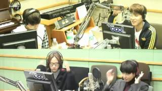 131205 shout to the sea VIXX N Super Junior Ryeowook KTR