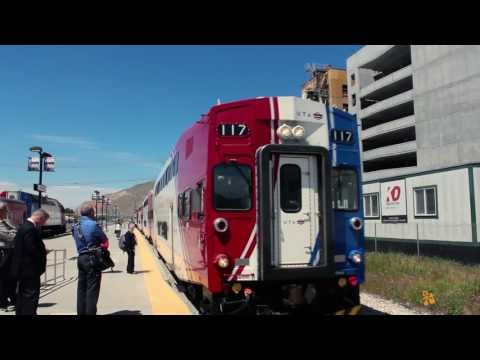 SLC Airport To Provo Using Frontrunner