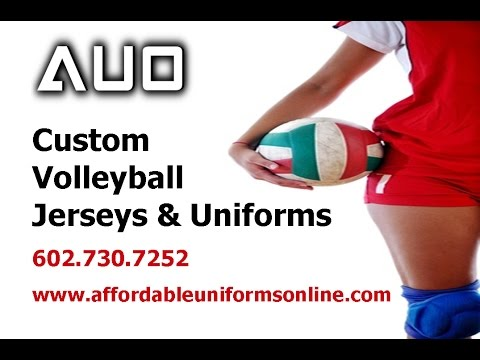 Custom Volleyball Jerseys & Uniforms