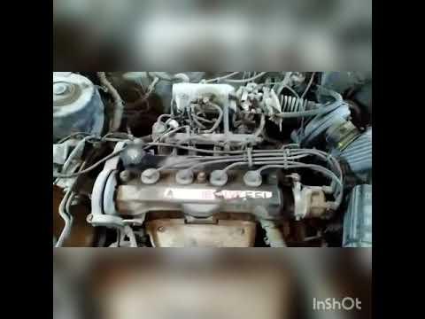 Обзор Toyota Carina II перед разборкой, проверка компрессии