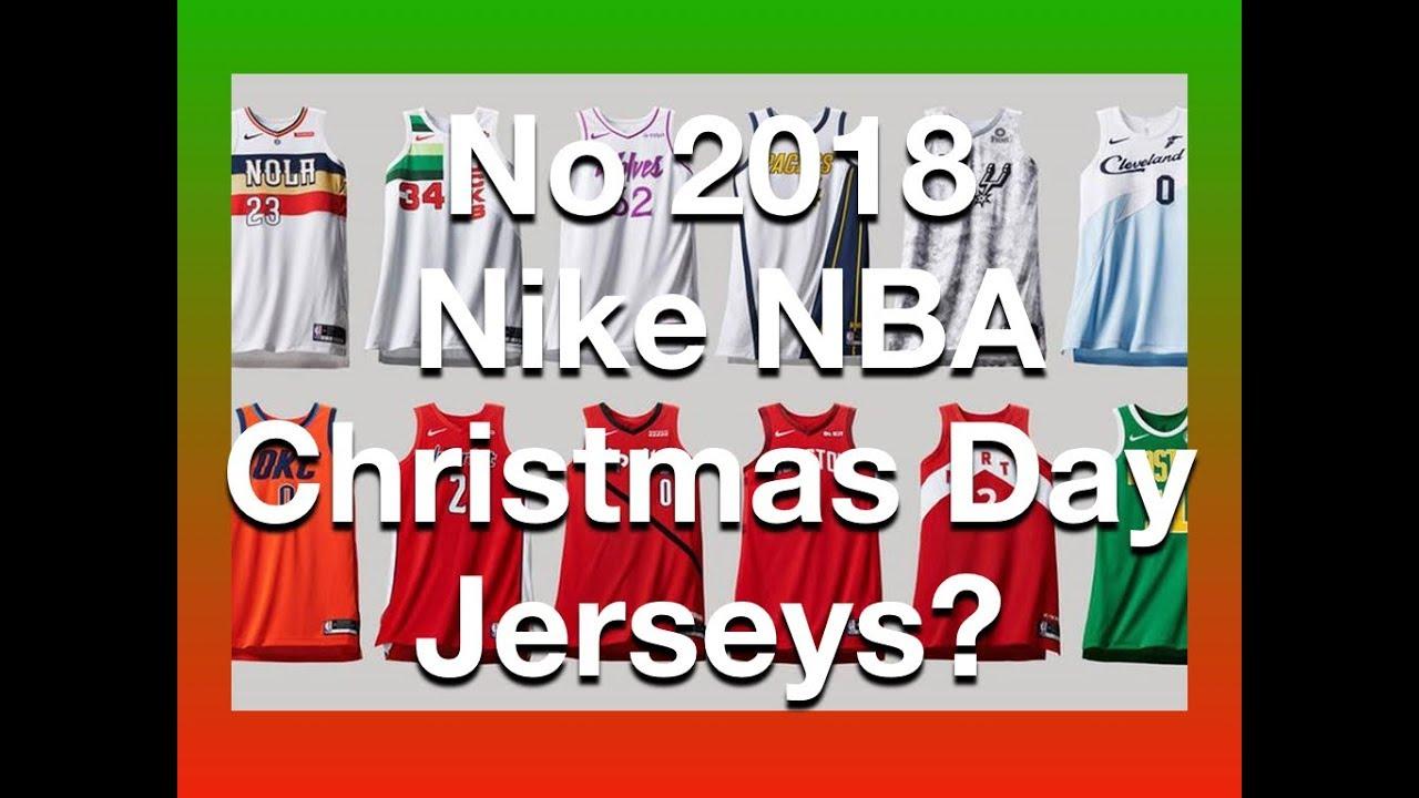 separation shoes badd4 6b362 UNOFFICIAL 2018 Nike NBA Christmas Day Jerseys (Nike/NBA Earned Uniforms)  #NBAXMas