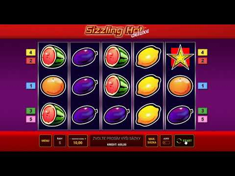 Sizzling Hot Deluxe - Gameplay Výherního Automatu