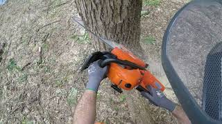 Download - ECHO CS-590 chainsaw - bar/chain install - first