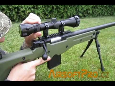 Download Well L96 AWP(S) MA4401D sniper rifle