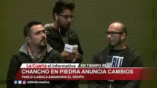 Chancho en Piedra - Salida de Pablo Ilabaca :´(