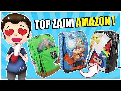 VOGLIO QUELLO ZAINO ! 😍 TOP MIGLIORI ZAINI SU AMAZON