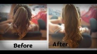 Make your hair look LONG in 5 MINUTES! -HowToByJordan