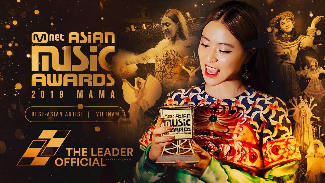 [2019 MAMA] HOÀNG THÙY LINH - Best Asian Artist Vietnam 041219