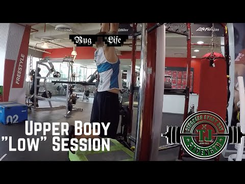 "#RugLife 2 – ""Low"" Day – Upper Body Training for Rugby"