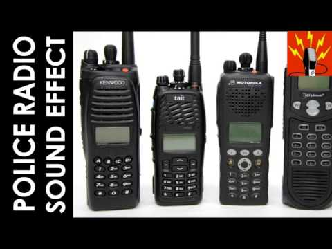 Police Radio Sound Effect