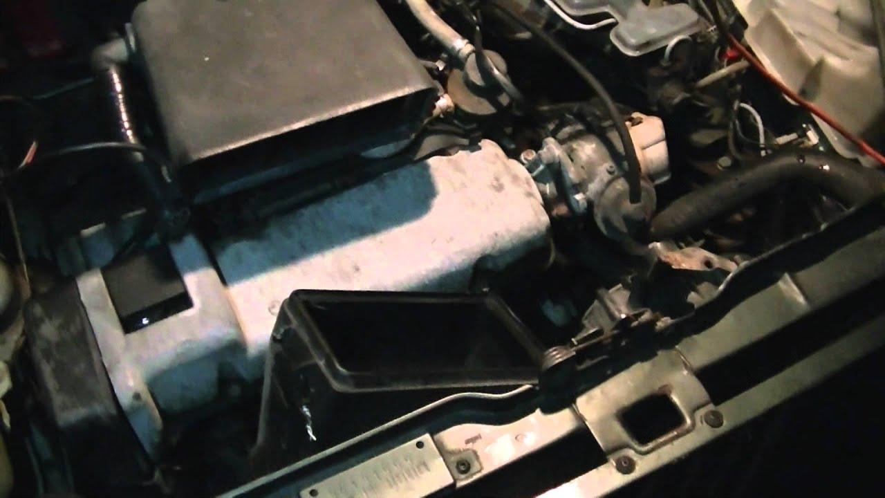 Fiat Panda 4x4 Sisley New Starter Motor Test Youtube