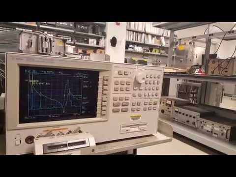 Lecture 10 Part C: HP 4294a Impedance Analyzer to Characterize Piezo