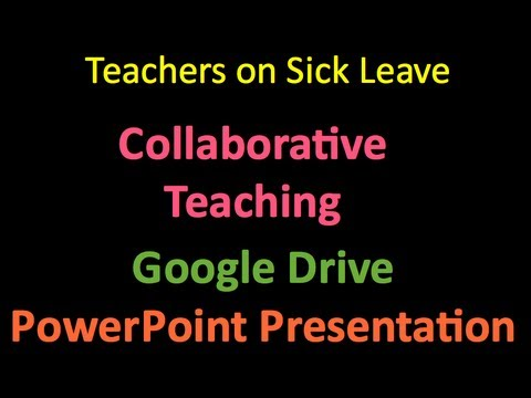 Teacher on Sick Leave