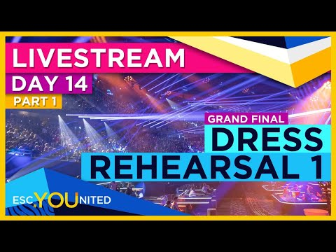 Eurovision 2021: GRAND FINAL - First Dress Rehearsal Live Stream (From Press Center)