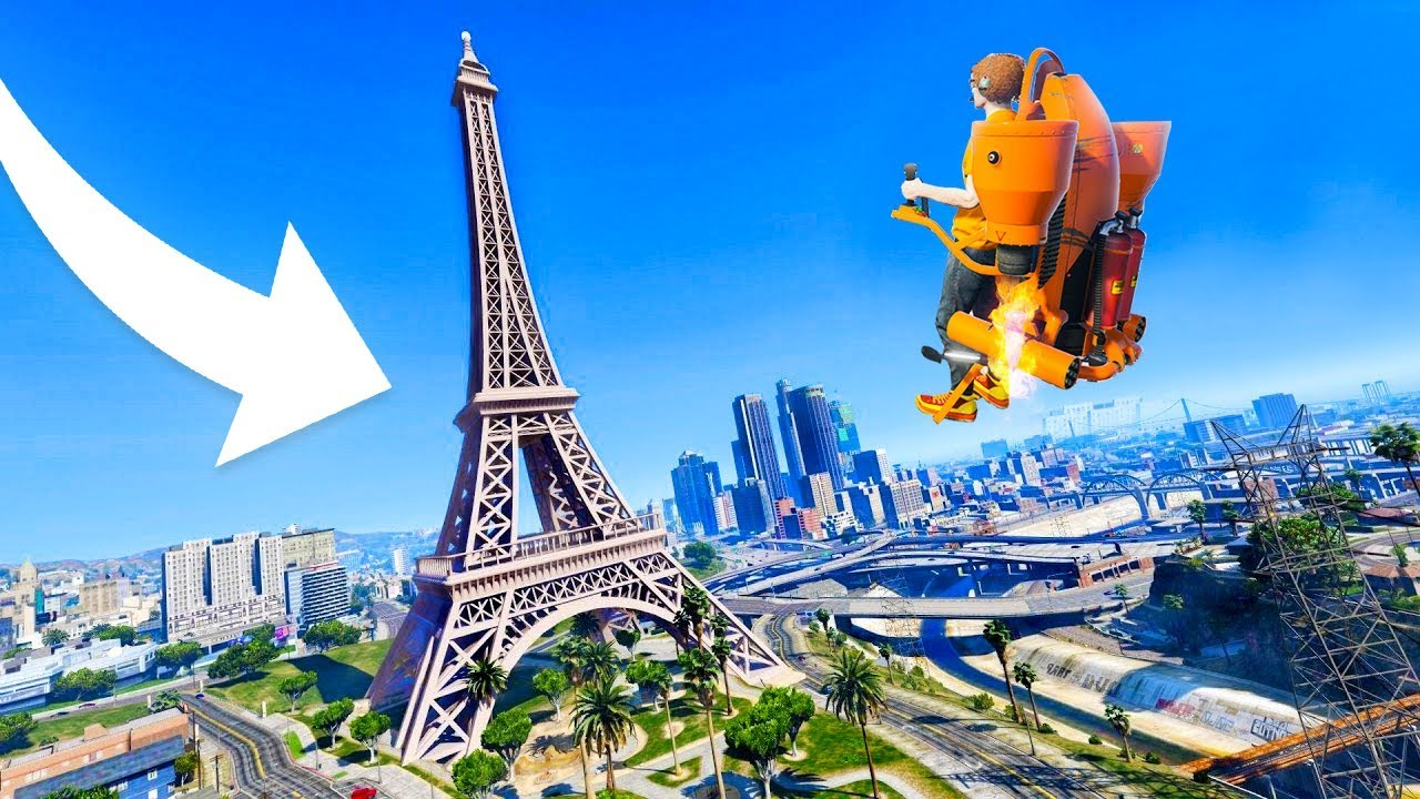 FLYING TO THE HIDDEN GTA 6 MAP! (NEVER SEEN BEFORE) - GTA 5 Funny ...