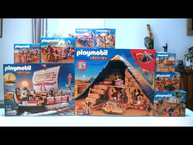 unboxing playmobil fr les egyptiens