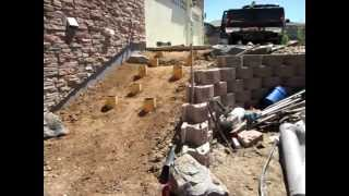 Building Composite Stairs How To Build Composite Stairs On Hill Side