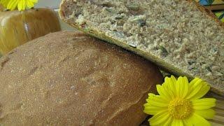 Рецепт- Хлеб домашний из цельно-зерновой муки