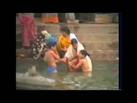 varanasi india, life along the ganges 1994