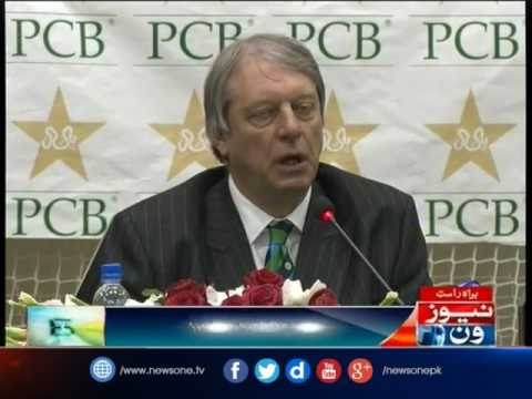 ICC task force president Giles Clarke press conference