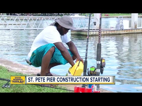 St. Pete Pier construction noise starting this week with test piling beginning July 17
