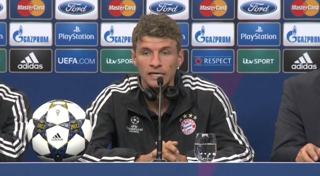 Thomas Müller Pressekonferenz