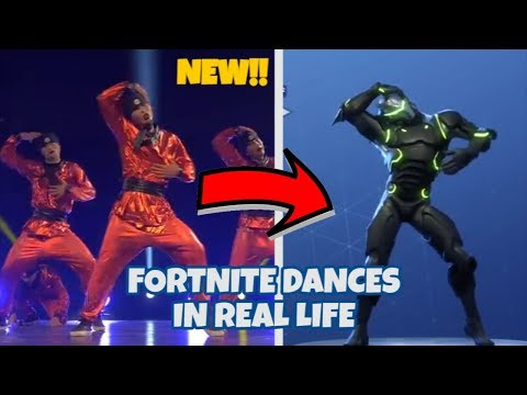 FORTNITE DANCES IN REAL LIFE ( LEAKED NEW DANCES  VIVACIOUS HITCHHIKER , BREAKDOWN AND MORE )