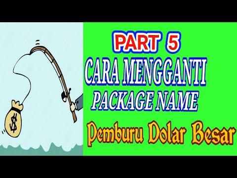Part 5 Cara Ganti package Name di Tuyul Admob dan menggandakan Apk