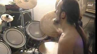 Sinners Bleed Drum Cam Jan.  2010  New Song