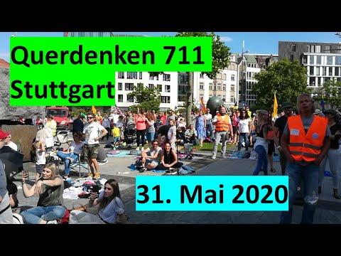 REPORTAGE - Querdenken 711 Stuttgart 31.5.2020