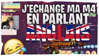 I Echange MA M4 HALLOWEEN IN PARLANT ENGLAND EPIC TROLL 😂 - Save the World