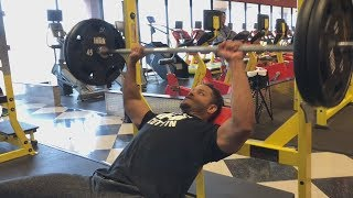 Quick Effective Chest & Shoulder Workout @hodgetwins
