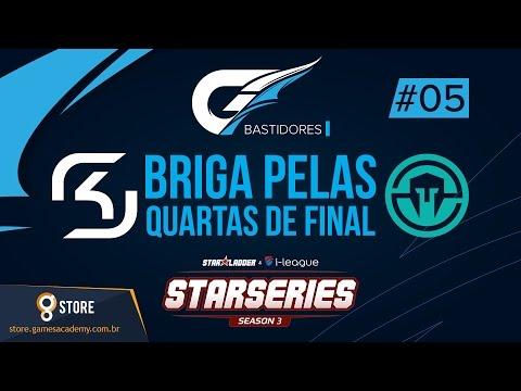 BASTIDORES SK-GAMING E IMMORTALS (ELIMINADOS) - DIA #05 - SL i-League StarSeries S03