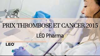 Recherche : Lauréat du Prix LEO Pharma Thrombose et Cancer 2015
