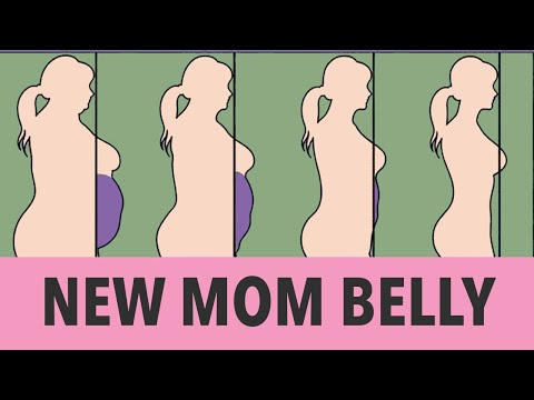 New Mom Belly – 30 Min Home Workout To Get Slim