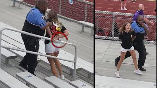 Mom Tased After Not Wearing a Mask at Football Game