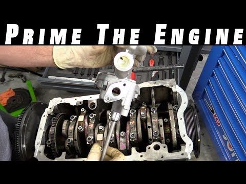 How To Prime an Engine And Oil Pump