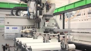 WD OKNA CNC multifunkční obráběcí centrum UNILINE - Výroba eurooken a dveří s maximální přesností