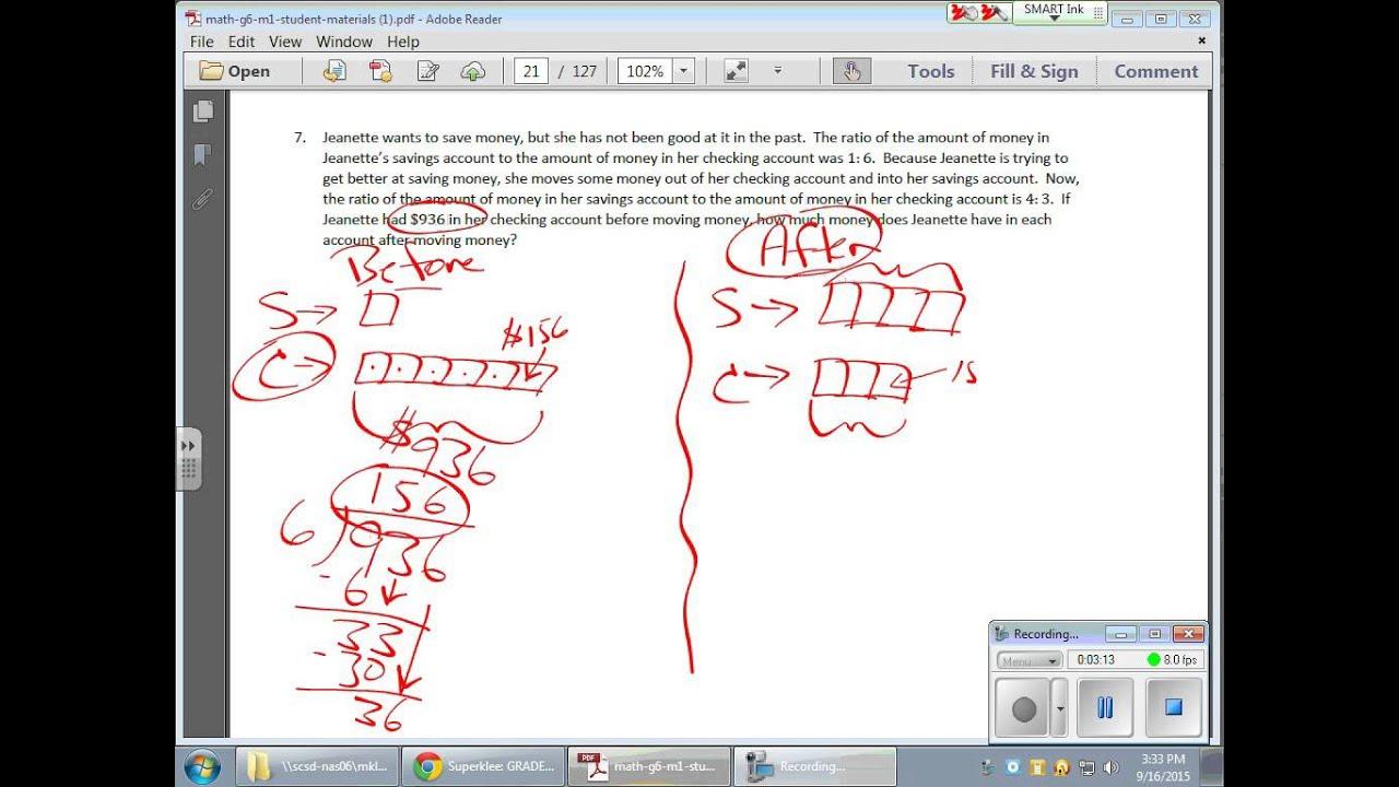 Grade 6 Module 1 Lesson 6