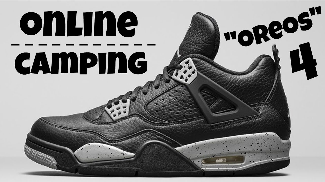 Air Jordan 4 Code De Style Oreo En Direct Annulé