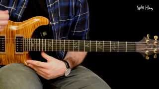 Congregation - Foo Fighters guitar tutorial Part 2 inc solo note for note tab HD