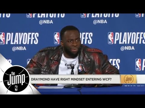 Scottie Pippen likes Draymond Green's mentality for Western Conference finals | The Jump | ESPN