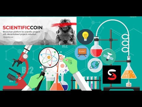 ScientificCoin Blockchain & Crypto Crowd Funding Platform For Scientific Projects