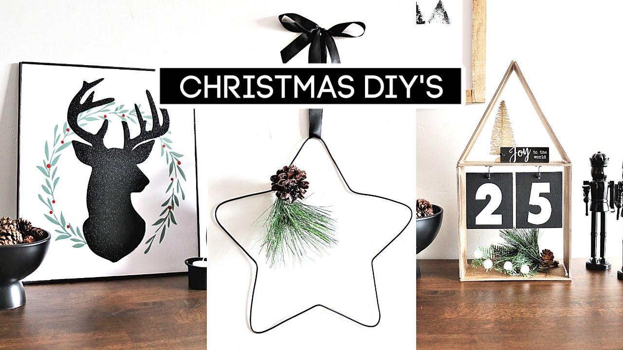 *NEW* 4 HIGH END DOLLAR TREE CHRISTMAS DIYs | (Best Count Down Calendar?)